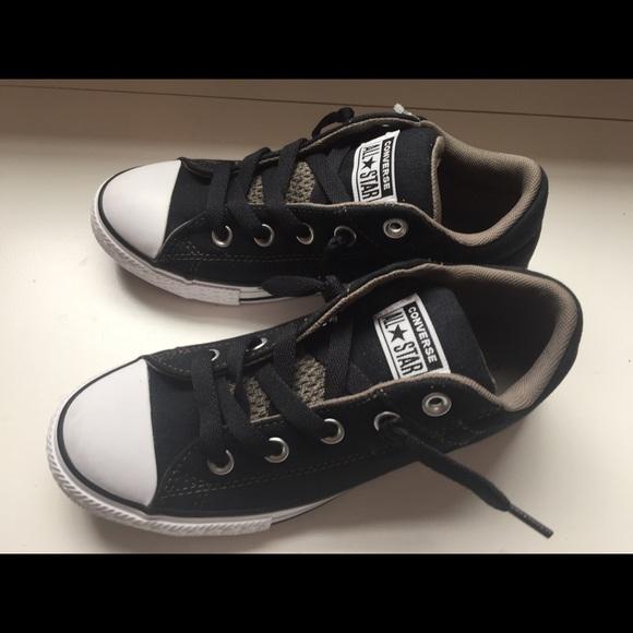 620448651ca New Converse All Star Low Black Sneakers Junior 3Y
